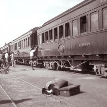 3-ThearrivalofthemailtrainfromSalisburyattheGatoomaStation1912